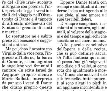 Dante e il canto gregoriano